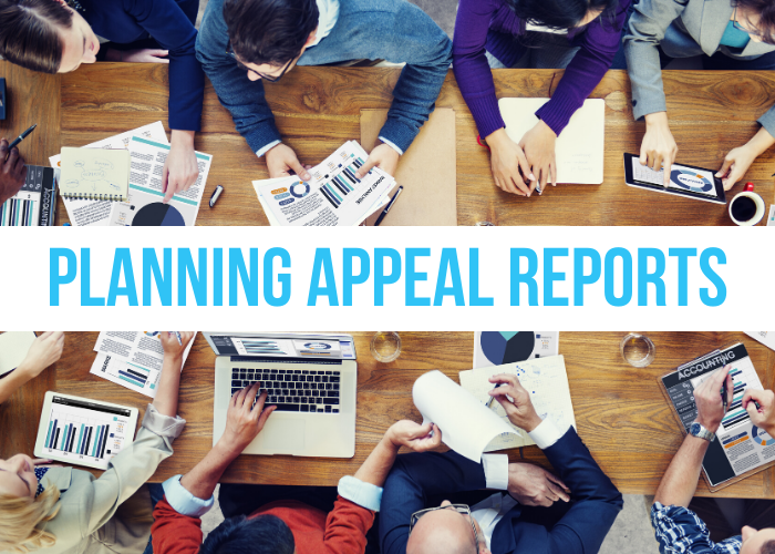 Planning Appeal Reports